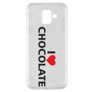 Etui na Samsung A6 2018 I like chocolate