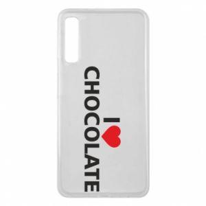 Etui na Samsung A7 2018 I like chocolate