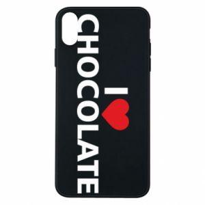 Etui na iPhone Xs Max I like chocolate