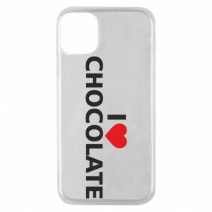 Etui na iPhone 11 Pro I like chocolate