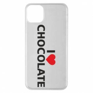 Etui na iPhone 11 Pro Max I like chocolate