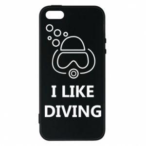 Etui na iPhone 5/5S/SE I like diving