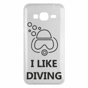 Etui na Samsung J3 2016 I like diving