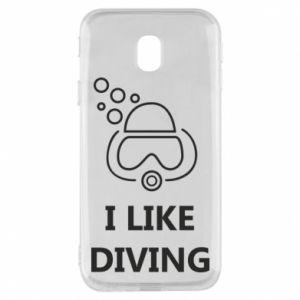 Etui na Samsung J3 2017 I like diving