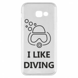 Etui na Samsung A5 2017 I like diving