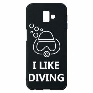 Etui na Samsung J6 Plus 2018 I like diving