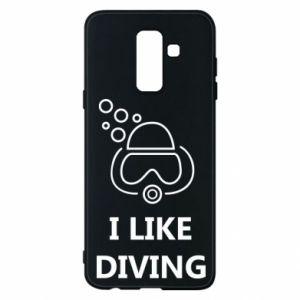 Etui na Samsung A6+ 2018 I like diving