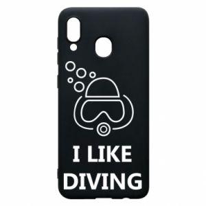 Etui na Samsung A20 I like diving