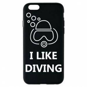 Etui na iPhone 6/6S I like diving