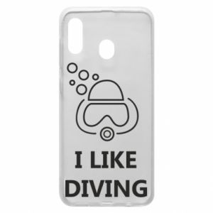 Etui na Samsung A30 I like diving