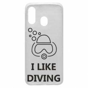 Etui na Samsung A40 I like diving