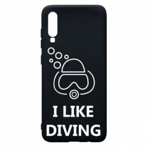 Etui na Samsung A70 I like diving