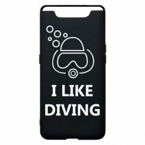 Etui na Samsung A80 I like diving