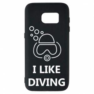 Etui na Samsung S7 I like diving