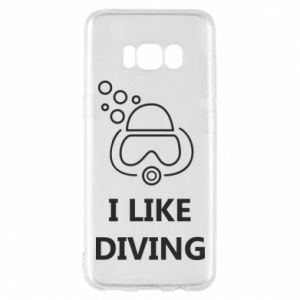 Etui na Samsung S8 I like diving