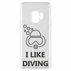 Etui na Samsung S9 I like diving
