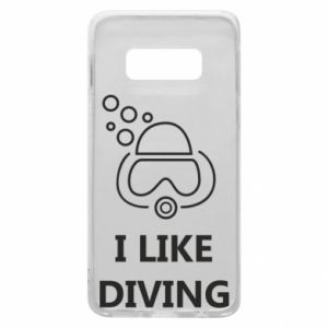 Etui na Samsung S10e I like diving