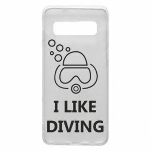 Etui na Samsung S10 I like diving