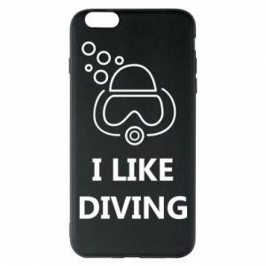 Etui na iPhone 6 Plus/6S Plus I like diving