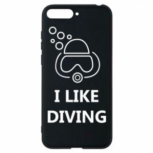 Etui na Huawei Y6 2018 I like diving