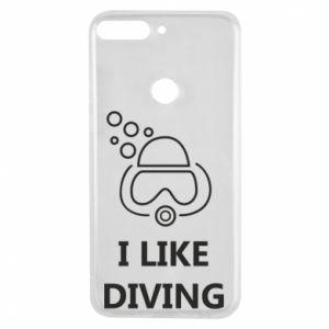 Etui na Huawei Y7 Prime 2018 I like diving
