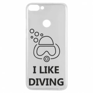 Etui na Huawei P Smart I like diving