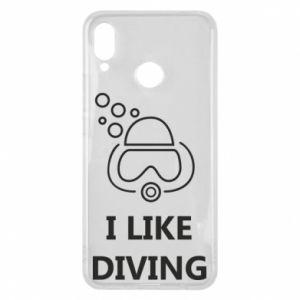 Etui na Huawei P Smart Plus I like diving