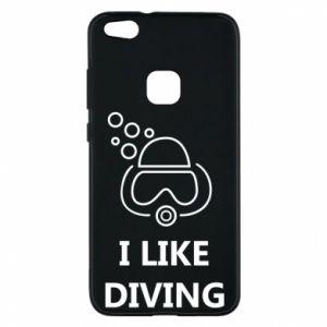 Etui na Huawei P10 Lite I like diving