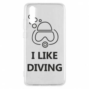 Etui na Huawei P20 I like diving
