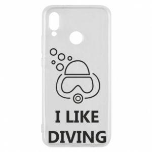Etui na Huawei P20 Lite I like diving