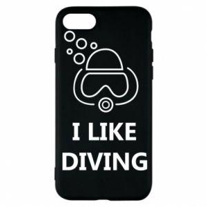 Etui na iPhone 7 I like diving