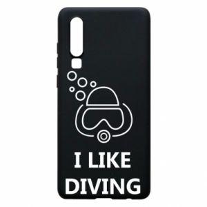 Etui na Huawei P30 I like diving