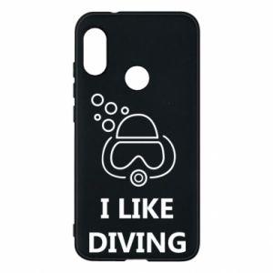 Etui na Mi A2 Lite I like diving