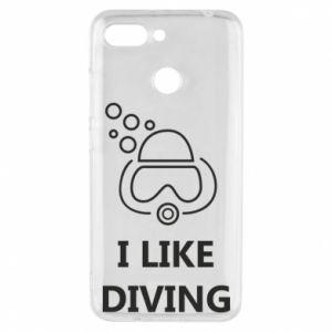 Etui na Xiaomi Redmi 6 I like diving