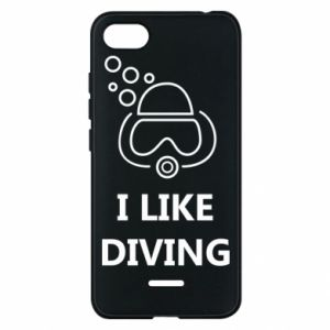 Etui na Xiaomi Redmi 6A I like diving