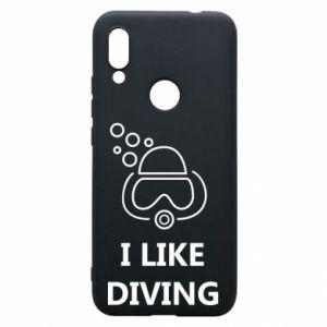 Etui na Xiaomi Redmi 7 I like diving