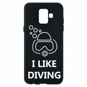 Etui na Samsung A6 2018 I like diving