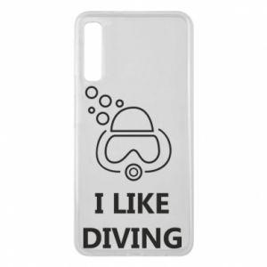 Etui na Samsung A7 2018 I like diving