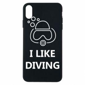 Etui na iPhone Xs Max I like diving