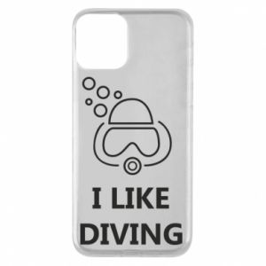 Etui na iPhone 11 I like diving