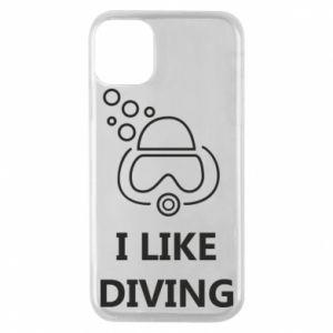 Etui na iPhone 11 Pro I like diving