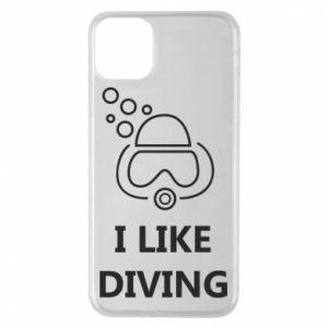 Etui na iPhone 11 Pro Max I like diving