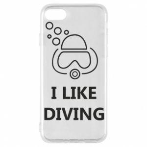 Etui na iPhone 8 I like diving