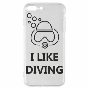 Etui na iPhone 8 Plus I like diving