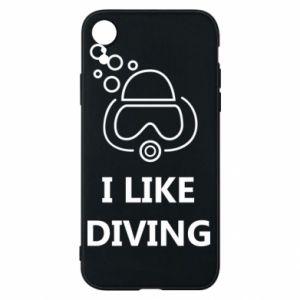 Etui na iPhone XR I like diving