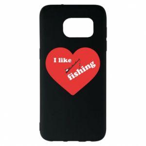 Samsung S7 EDGE Case I like fishing