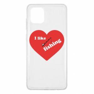 Samsung Note 10 Lite Case I like fishing