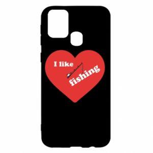 Samsung M31 Case I like fishing