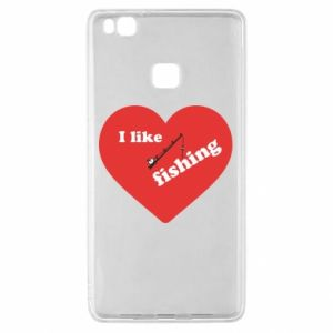 Huawei P9 Lite Case I like fishing