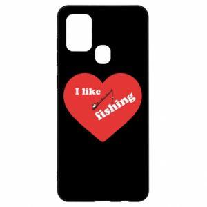 Samsung A21s Case I like fishing